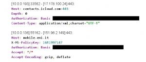 Данные из HTTP Basic Auth
